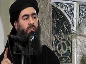 أبو بكر البغدادي زعيم داعش الإرهابي