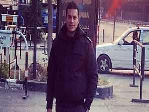 أول صورة للملازم علي شوقي الذي استشهد في إطلاق نار على سيارة أمن مركزي