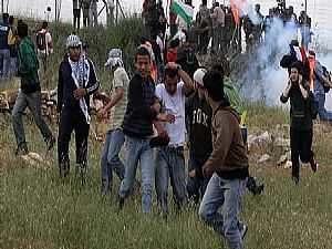 اشتباكات بين الفلسطينيين وقوات الاحتلال
