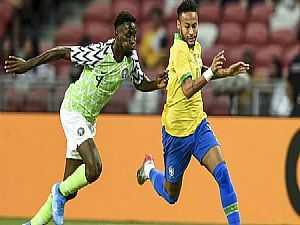 البرازيل تتعادل مع نيجيريا