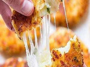 البطاطس بالموتزاريلا