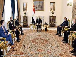 السيسي للمبعوث الأميركي: سد النهضة قضية وجودية لمصر
