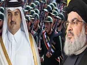 النظام القطري وحسن نصر الله