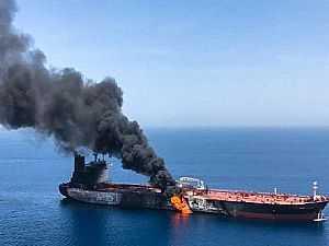 انفجار سفينة إسرائيلية