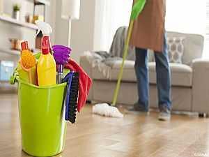 تنظيف منزلك