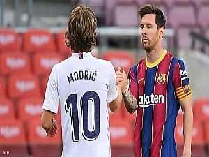 ريال مدريد يفوز 2-1 على برشلونة