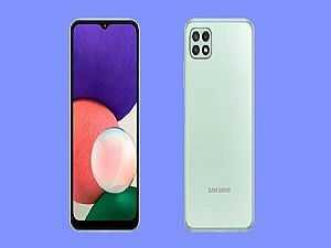 صورة الخبر: سامسونج تعلن رسميا عن هاتف Galaxy A22 5G.. تعرف على مواصفاته وسعره