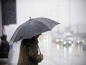 شديد البرودة وأمطار