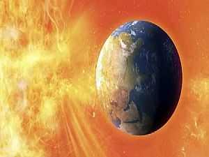 عاصفة شمسية جيومغناطيسية