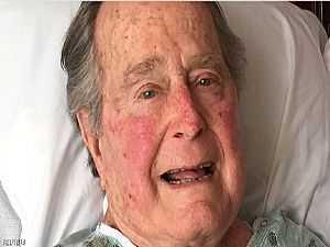 فريق جورج بوش الأب الطبي يكشفون سر عدم خروجه من المستشفى