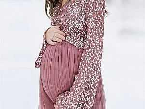 لو حامل.. أفكار لـ فساتين سهرة