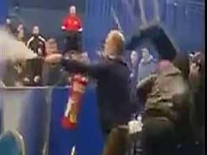 مباراة ملاكمة تتحول إلى مشاجرة دامية