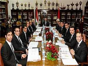 مجلس أدارة الأهلي