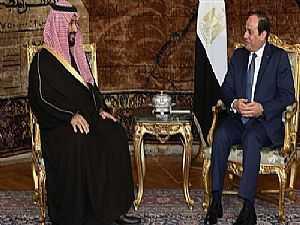 مكالمة السيسي وولي عهد السعودية