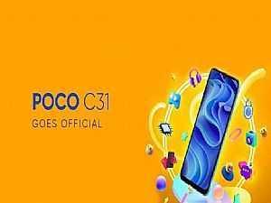 صورة الخبر: مواصفات وأسعار هاتف Xiaomi Poco C31