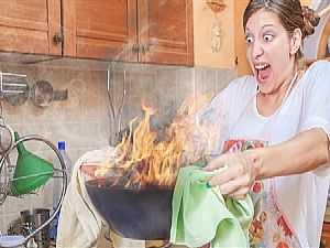 نصائح تجنبك حوادث الحريق في المطبخ