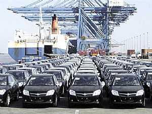 100 مليون ضرائب عن السيارات المستوردة عبر جمارك بورسعيد خلال يونيو