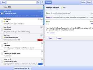 طرحت جوجل تطبيق لبريد الجيميل الشهير ، يعمل كإضافة