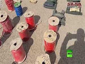أسلحة وألغام إسرائيلية
