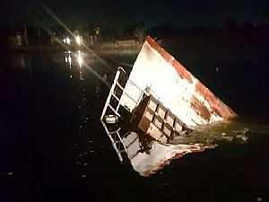 حادث مركب بحيرة مريوط