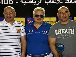 مرتضى منصور وحسام وابراهيم حسن