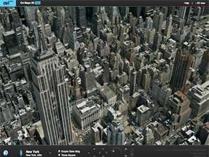 ���� �����: ����� ����� ���� ������� Ovi Maps 3D