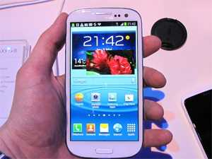 ���� �����: Samsung Galaxy S III ����� �� ����� �� ������ �� �����